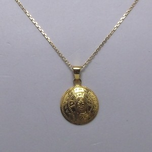 Κολιέ χρυσό 18Κ nkg092