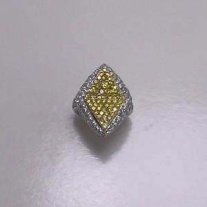 Δακτυλίδι από ροδιομένο ασήμι 925 -rg008