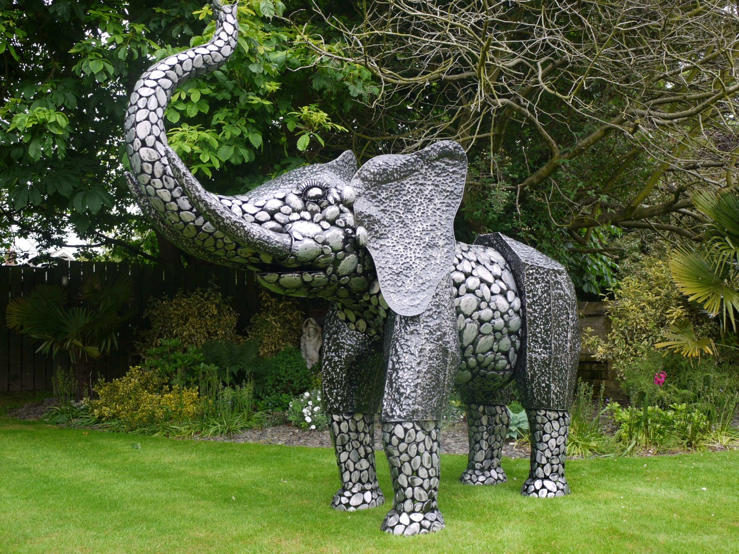 Large Metal Elephant Greens Home And Garden