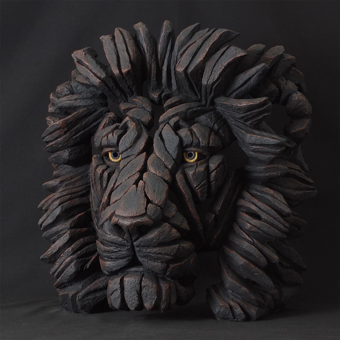 Edge Black Cat Sculpture