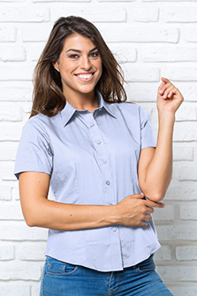 Shirt Lady SS Oxford - SHRLSSOXF