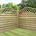 Larch Waney, Log Lap, Picket Panels, Vertical Weather Board, VWB, Round Top Panels, Jagram Fencing