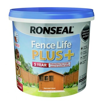 Ronseal Fence Life Plus 5Ltr