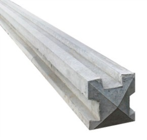 Concrete 3 way posts