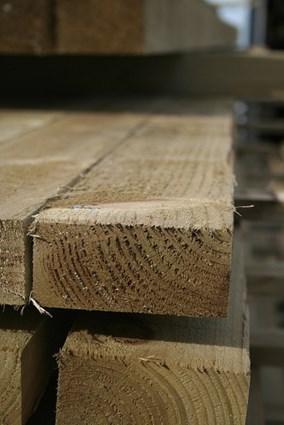 Treated Timber Rails