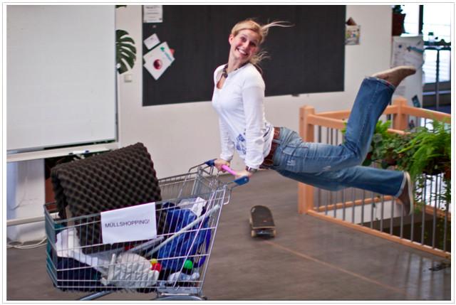 Magda at work