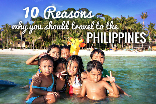 10 reasons to travel to the Philippines