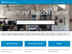 JImdo SupportCenter