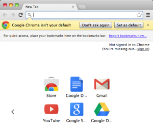 chrome-as-default