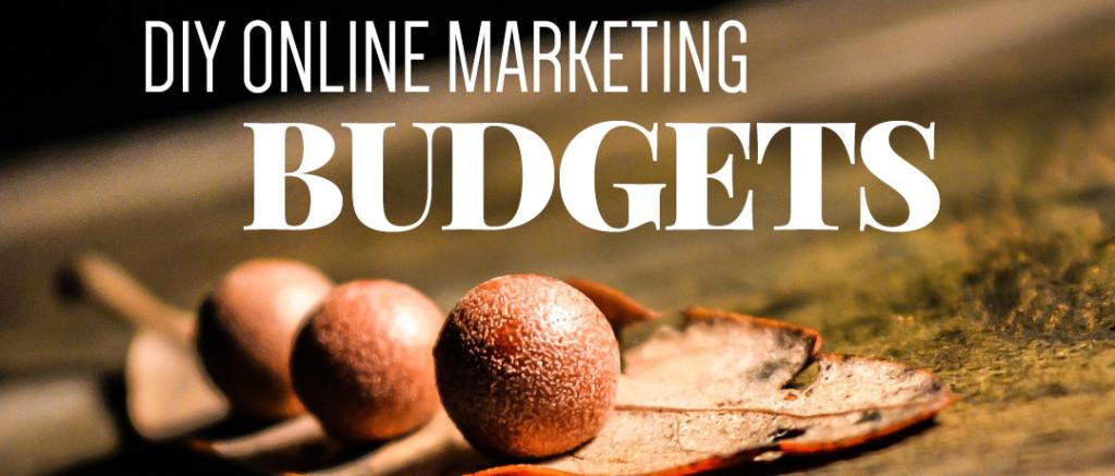 DIY online marketing budgets