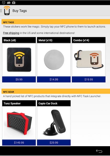 Trigger for NFC
