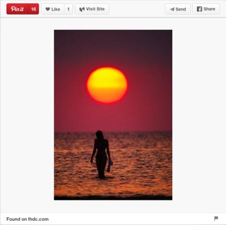 Ocean sunset on Pinterest