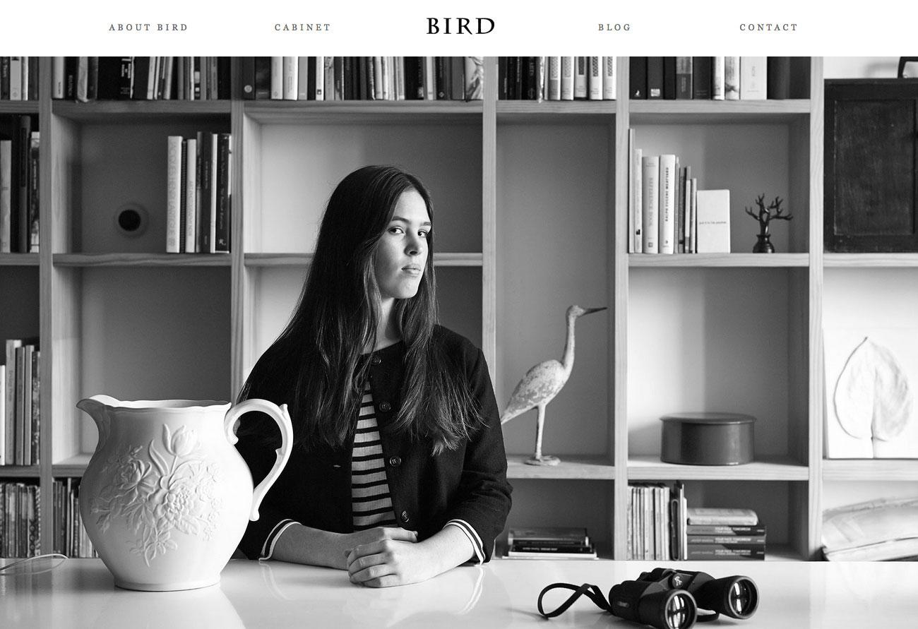 Bird Boutique- Gray Example