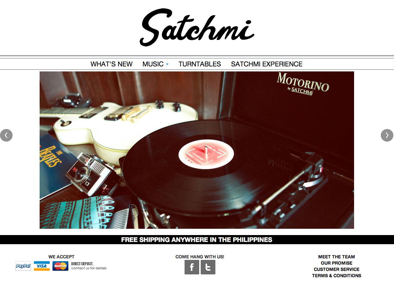 Satchmi - White Example