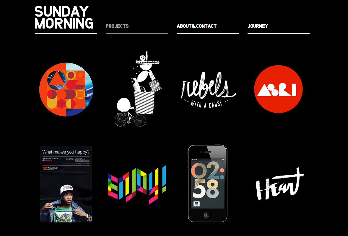 Sunday Morning - Black Example