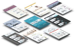 New, modern templates make it easy to find the right look for your site.