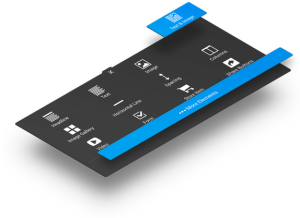 New user interface puts everything you need right at your fingertips.