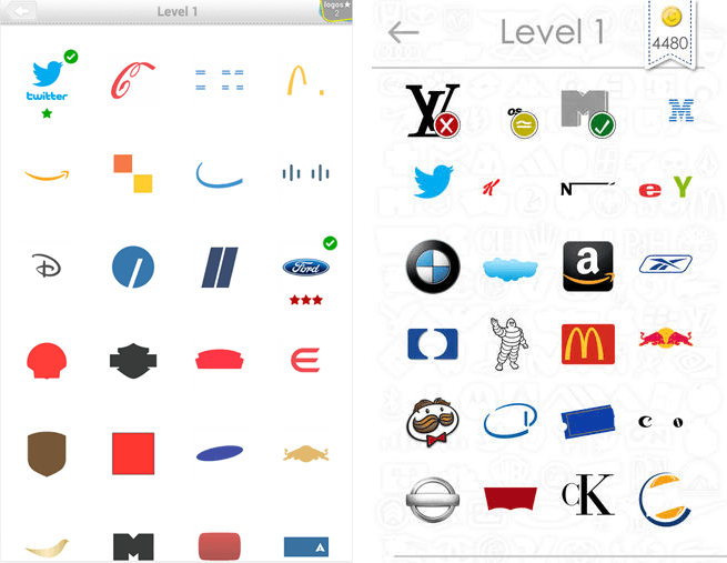 Logo Guessing apps