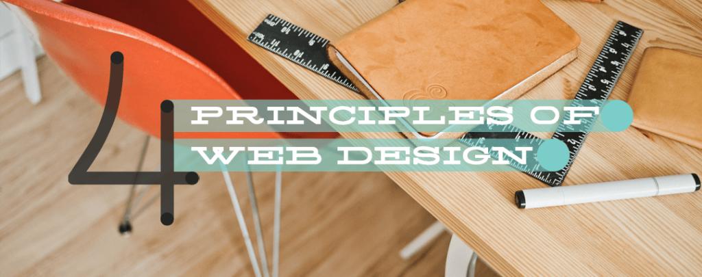 Four Principles of Web Design