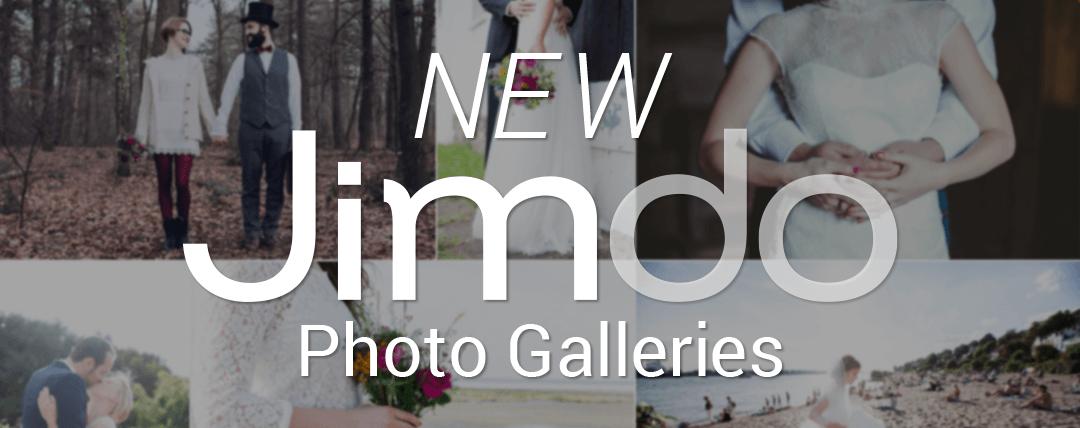 New Jimdo Photo Galleries