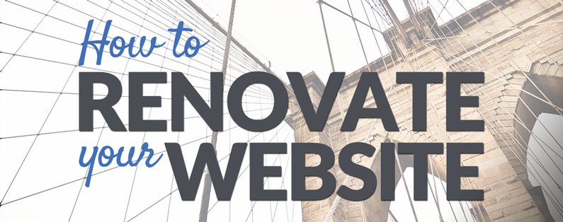 How to renovate your website