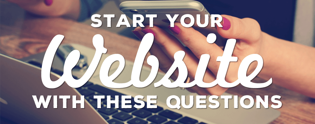 Start your free website with these questions