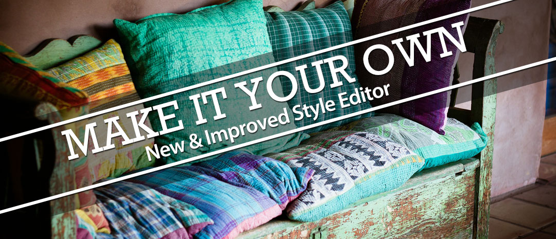 Updated Style Editor