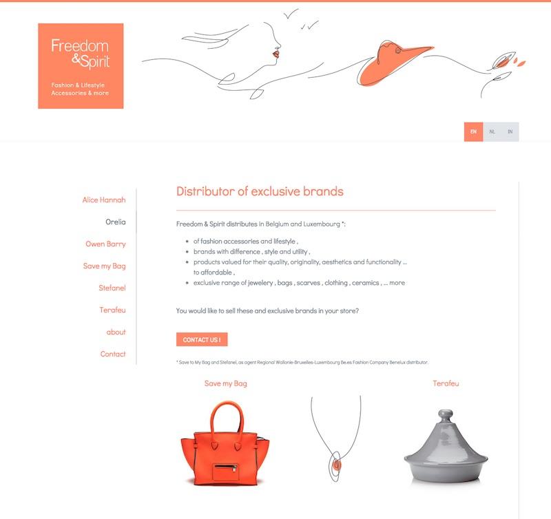 Multilingual website using template Hamburg