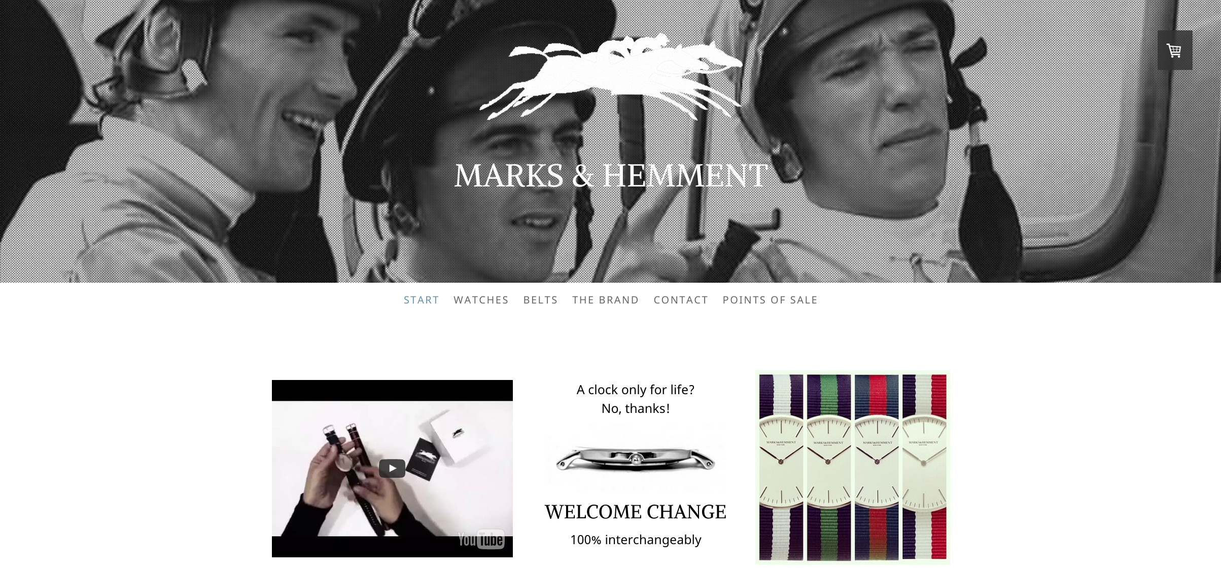 This is an example of a website created with the Zurich template