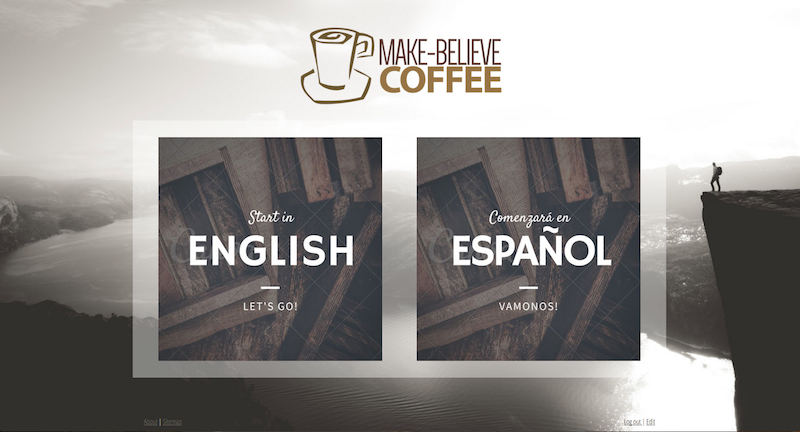 Multiingual website with Lille Template