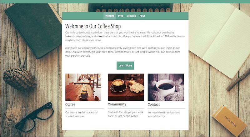 Change Website Color Scheme