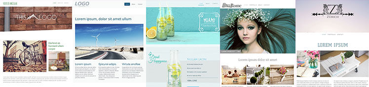 These are the best templates for one page websites.