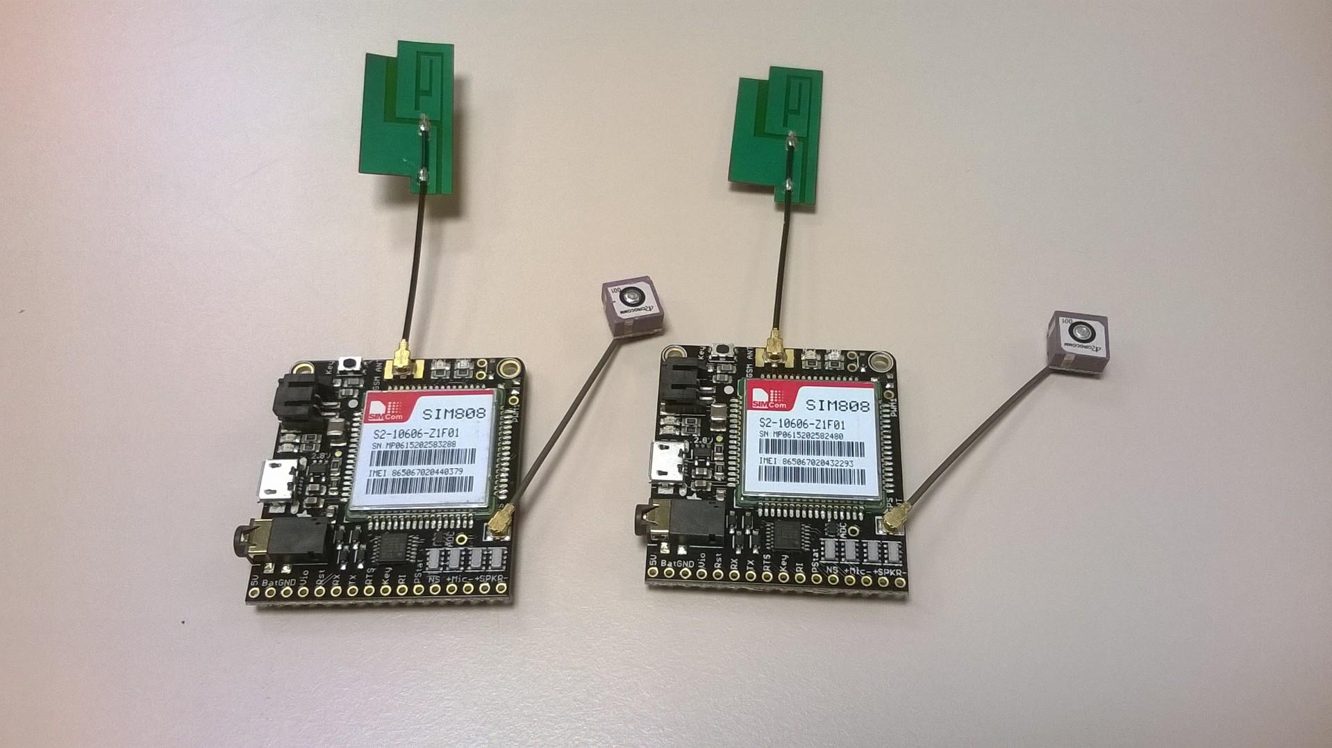 Adafruit FONA 808 modules