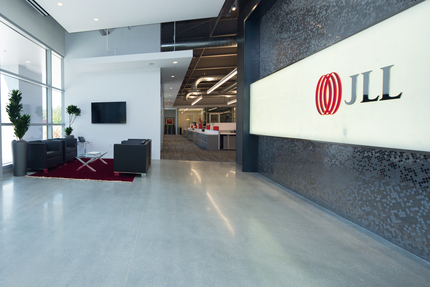 Jll silicon valley lobby 1