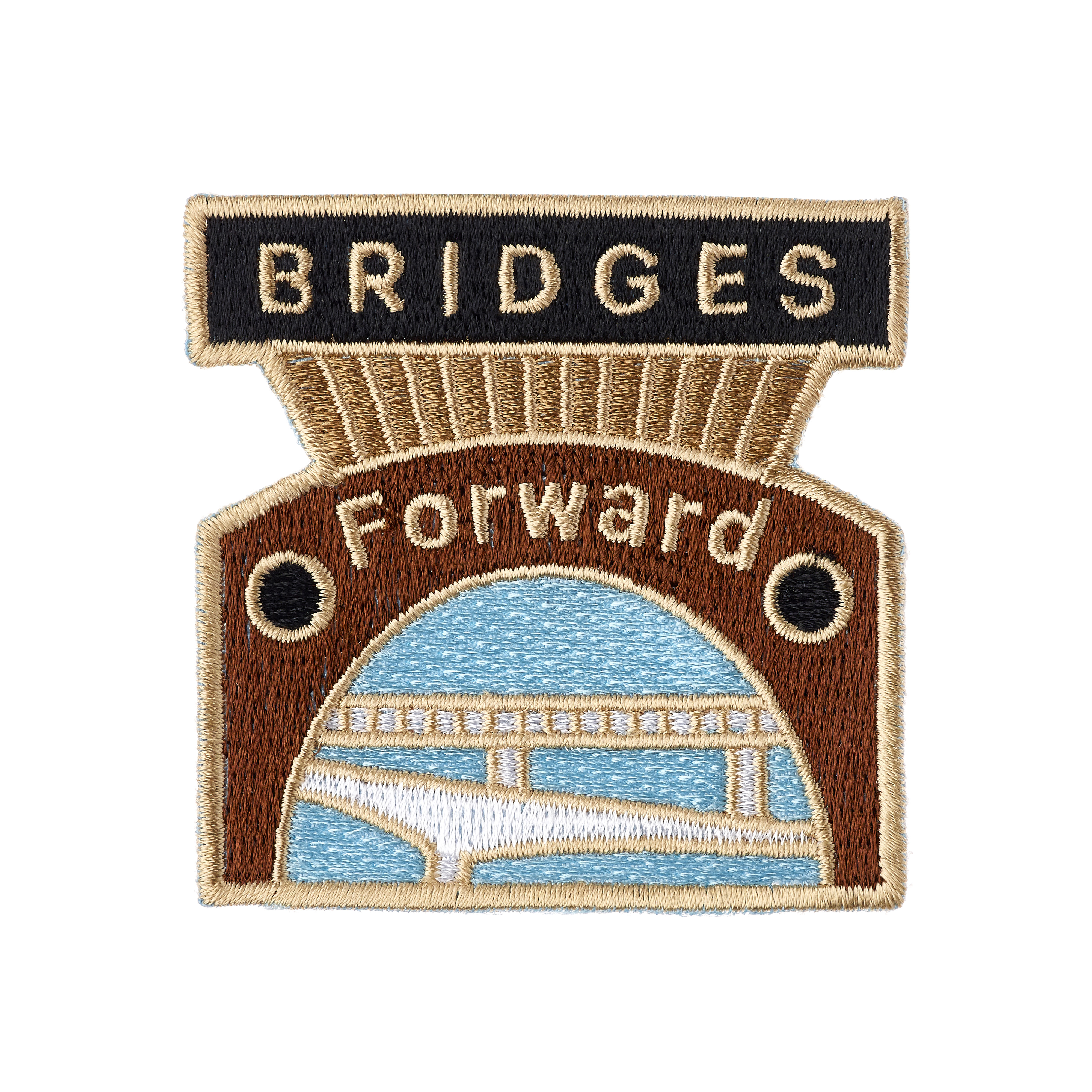 Embroidered woven cloth patch badges - Made by Cooper