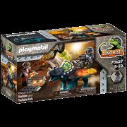 Playmobil Dino Rise Triceratops Battle (70627)