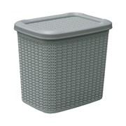 Jvl Loop Storage Box Grey 10lt (13-363GY)