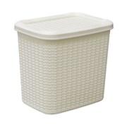 Jvl Loop Storage Box White 10lt (13-363WH)