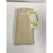 Dh Dobby Shower Curtain Cream (001-021)