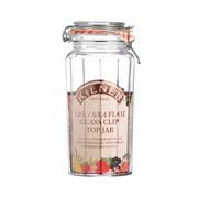 Kilner Facetted Glass Clip Jar 1.8l 1.8 L (0025.735)