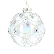 Gisela Graham Glass Ball Soap Bubble Bead/diamante (00278)