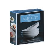 Price & Kensington P&k Simplicity Set Of 4 Bowls 23cm (0059.075)