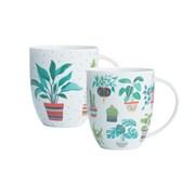 Price & Kensington Bone China Plants Mugs (0059.142)