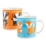 Price Kensington P&k Woodland Animals China Mug Asstd (0059.596)