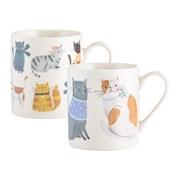 Price & Kensington Cosy Cats China Mugs (0059.599)