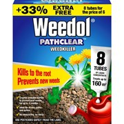 Weedol Pathclear Weedkiller 6+2 Tubes 8s (011005)