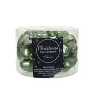 Glass Star x 12 Sage Green (012241)