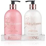 Baylis & Harding Pink Magnolia & Pear Blossom 2 Bottle Set (BM500PM2BTL)
