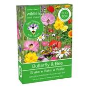 Bee Friends Seed Shaker Butterfly & Bee (018226)