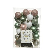 Shatterproof Baubles Mix x33 Natures Gift (020097)